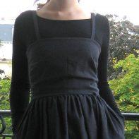 robe amish détail