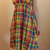 robe madras devant