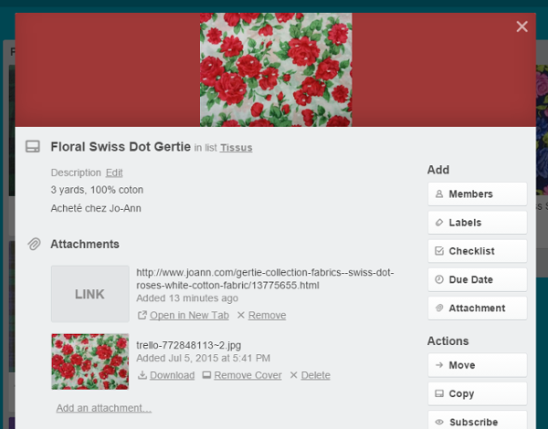 how to add to cards on trello