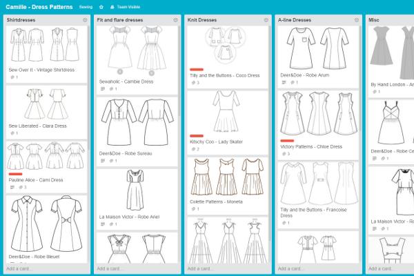 dresses-board