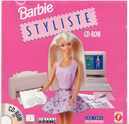 Barbie Styliste French Version - Cover